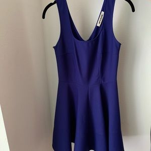 Cobalt blue skater dress